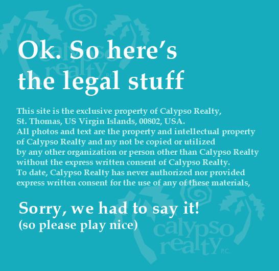 Calypso Legal Notice